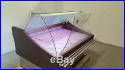 SERVE OVER DISPLAY COUNTER 1.5m CHILLER MEAT FRIDGE DELI IN BROWN