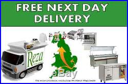 Salad Pizza Prep Refrigerated Display Counter 4 Ft