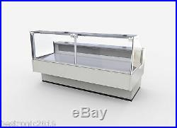 Serve Over Counter 2.5m Square Display Fridge Meat Chiller