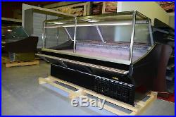 Serve Over Counter 3m Long Display Square glass Fridge Meat Chiller