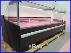 Serve Over Counter Samos 3.13m, Meat Display, Pneumatic Lift Up Glass