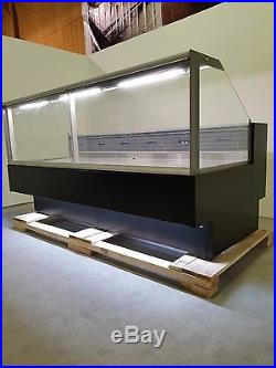 Serve Over Display Counter 2.5 M Chiller Meat Dairy Fish Fridge Deli Counter