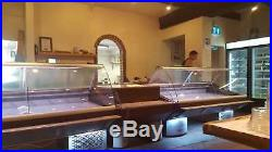 Serve Over Display Counter 2 M Chiller Meat Dairy Fish Fridge Deli Counter