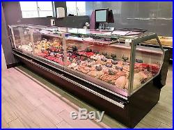Serve Over Display Counter 3.0m Chiller Meat Dairy Fish Fridge Deli Counter