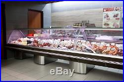 Serve Over Display Counter 7.5 M Chiller Meat Dairy Fish Fridge Deli Counter