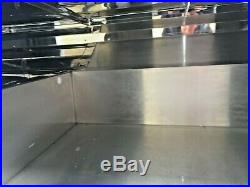 Serve over counter Chiller display fridge year 2016 stainless steel interior