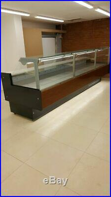 Serve over counter display fridge meat kebab Cafe shop Sandwich shop 180cm deli