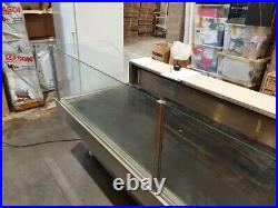 Serve over the counter display fridge Used