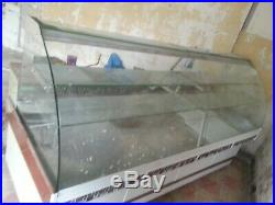 Shop over counter refrigerated display chiller freezer