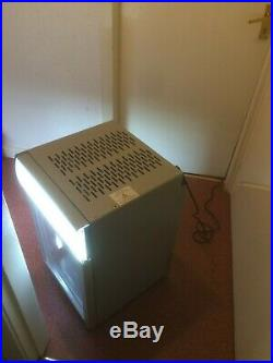 Small Under Counter or Display Fridge Drinks Cooler with Glass Door and Light