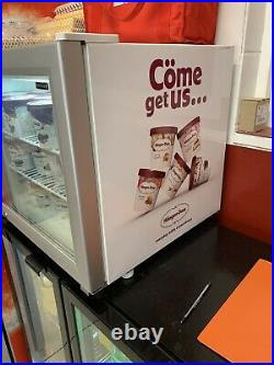 Tefcold small counter top display freezer, Haagen Dazs Excellent Condition