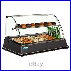 Trimco Manchester Counter Top Display Refrigerated with Curved Glass
