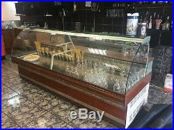 Trimco Serve Over Counter Display Fridge unit 2.8 m Long with Curved Glass SALE