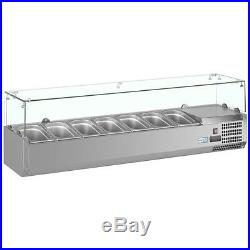 VRX 330 1200 mm GASTRONORM PIZZA PREPERATION BAR COUNTER TOP DISPLAY FRIDGE