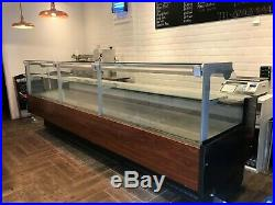 XL Refrigerated Serve-over Display Counter perfect for butchers, cafes and delis
