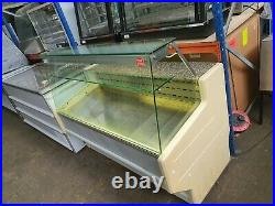 Zoin 1.5 Metre Commercial Straight Glass Serve Over Counter Display Fridge Unit
