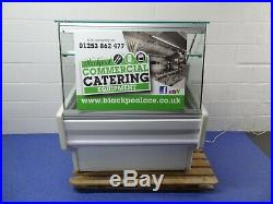 Zoin 1m Glass Fronted Refrigerated Serve Over Counter Serving Display 1 Meter