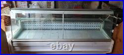 Zoin Hill Refrigerated Serve Over Counter Display White