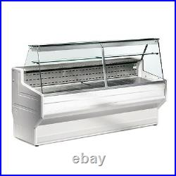 Zoin Hill Refrigerated Serve Over Counter Display White 3 Mtr
