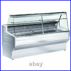 Zoin Hill Slimline Serve Over Counter Showcase Chiller Unit Food Display 1500mm