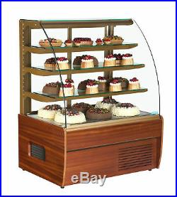 Zurich Wood 150 Patisserie Cake Display Fridge Counter + Free Uk Delivery